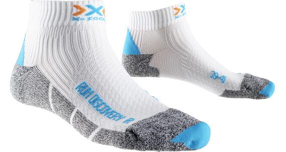 X-Socks Run Discovery Skarpetki do biegania Kobiety szary/biały